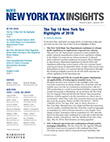 MoFo New York Tax Insights
