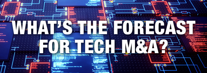 What's the Forecast for Tech M and A?