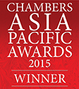 Chambers Asia Pacific Awards - 2015 Winner