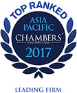 Top Ranked Practice - Chambers Asia Pacific 2017