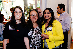 Candid Photo from Los Angeles Alumni Event