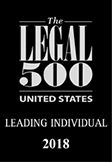 Legal 500 Leading Individual US 2018