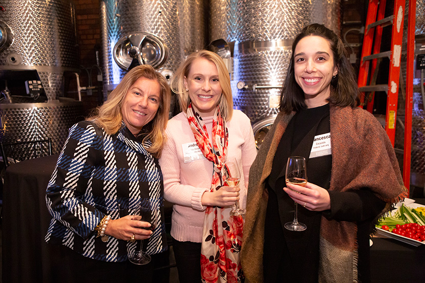 Photo from New York Alumnae Event