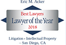 Eric Acker Best Lawyers 2017