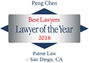 Peng Chen Best Lawyers Lawyer of the Year