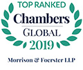 Top Ranked in Chambers Global 2019