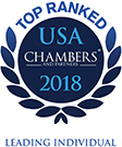 Ranked in Chambers USA 2018 - Leading Individual