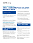 Frequently Asked Questions about Form 8-K Relevant to Public Real Estate Investment Trusts
